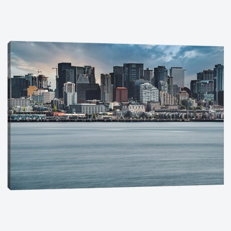 Seattle Frozen In Time Canvas Print #LRH165} by Louis Ruth Canvas Art Print