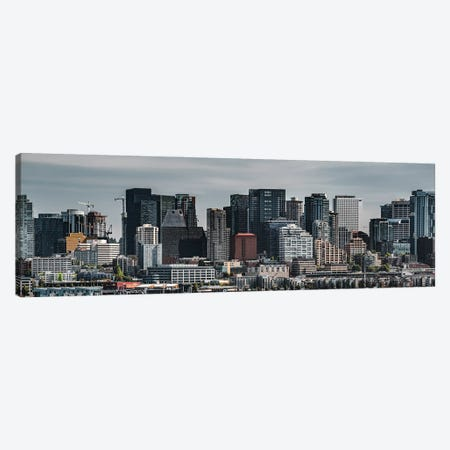 Seattle Frozen In Time Wide Version Canvas Print #LRH166} by Louis Ruth Art Print