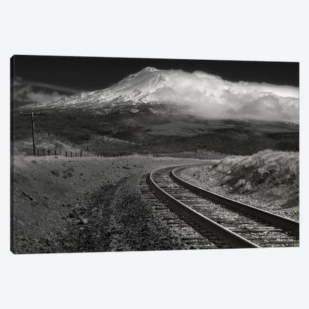 Dark One Over Shasta Canvas Print #LRH22} by Louis Ruth Canvas Artwork