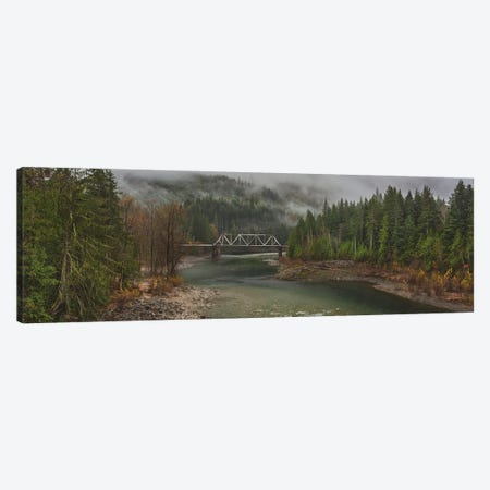 The Mist And Fog Flows Gently Through Canvas Print #LRH236} by Louis Ruth Canvas Art Print