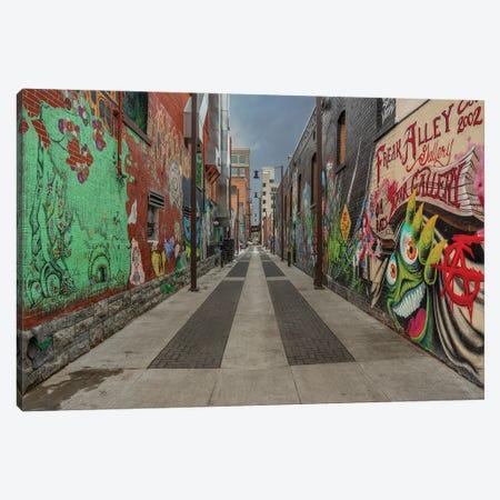 Freak Alley Canvas Print #LRH237} by Louis Ruth Canvas Art Print