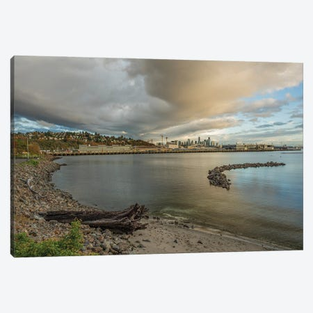 A Storm Is Brewing Canvas Print #LRH244} by Louis Ruth Canvas Artwork
