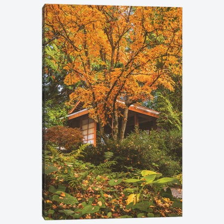 Tea House Canvas Print #LRH245} by Louis Ruth Canvas Artwork