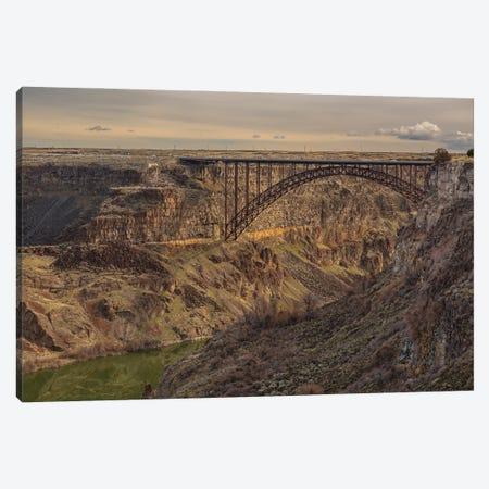 Perrine Bridge Scape Idaho Canvas Print #LRH262} by Louis Ruth Canvas Print