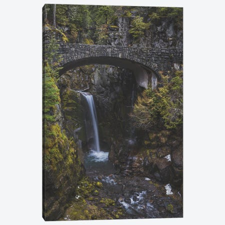 Christine Falls Canvas Print #LRH265} by Louis Ruth Canvas Wall Art