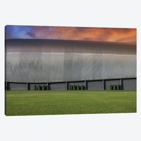 Area 51 Hanger Canvas Print #LRH272} by Louis Ruth Canvas Wall Art