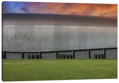 Area 51 Hanger Canvas Art Print