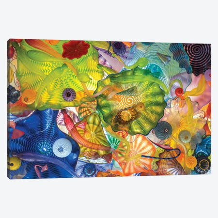 Glass Art Wall IV Canvas Print #LRH279} by Louis Ruth Canvas Wall Art