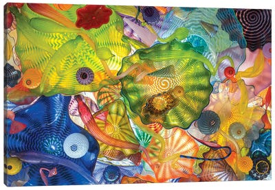 Glass Art Wall IV Canvas Art Print