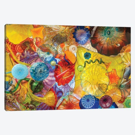 Glass Art Wall II Canvas Print #LRH281} by Louis Ruth Art Print