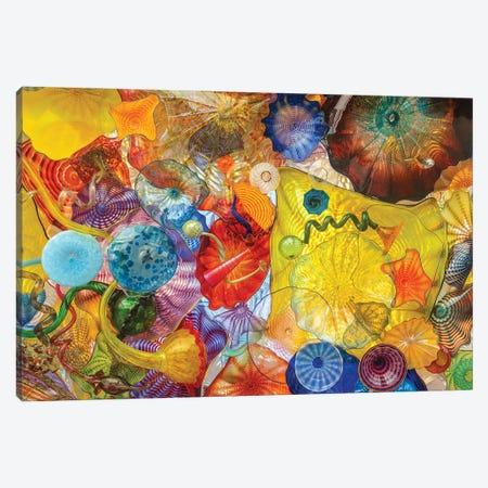Glass Art Wall II Canvas Print #LRH281} by Louis Ruth Art Print