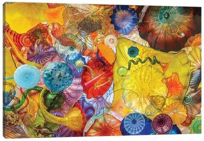 Glass Art Wall II Canvas Art Print