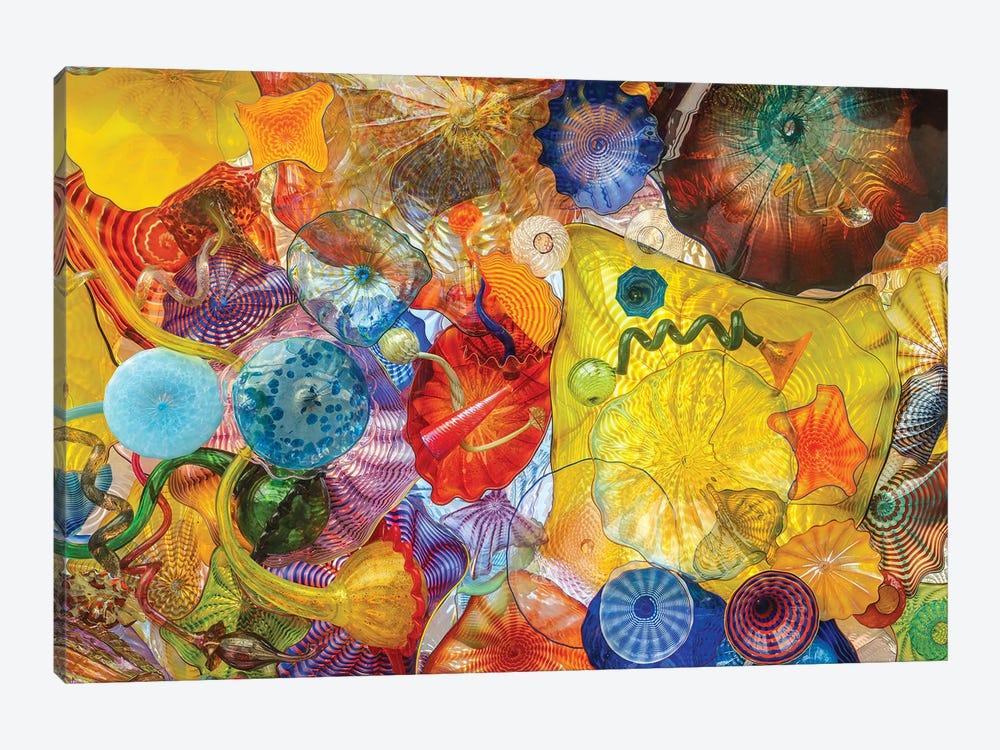 Glass Art Wall II by Louis Ruth 1-piece Canvas Artwork