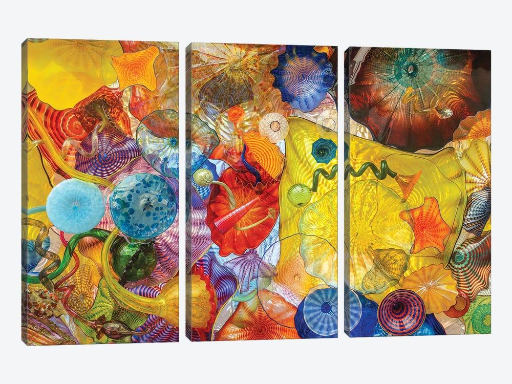 Glass Art Wall II by Louis Ruth 3-piece Canvas Wall Art