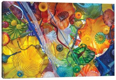 Glass Art Wall I Canvas Art Print