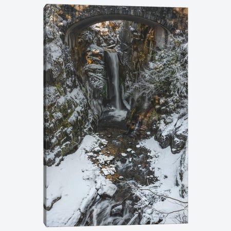 Christine Falls Winter 2020 Canvas Print #LRH286} by Louis Ruth Canvas Wall Art