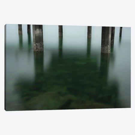 Simple Green Canvas Print #LRH297} by Louis Ruth Art Print