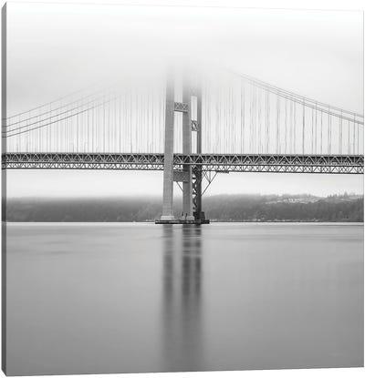 Narrows Bridge Monochrome Canvas Art Print