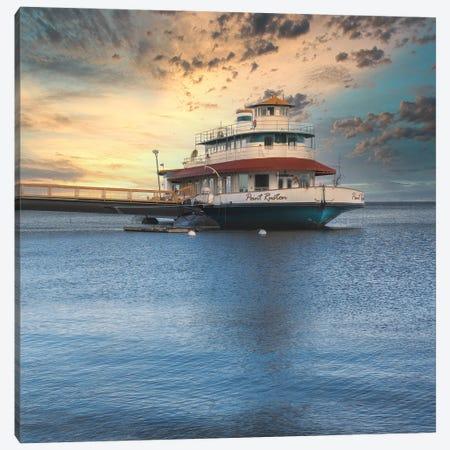 Retired Ruston Ferry Canvas Print #LRH318} by Louis Ruth Canvas Art Print