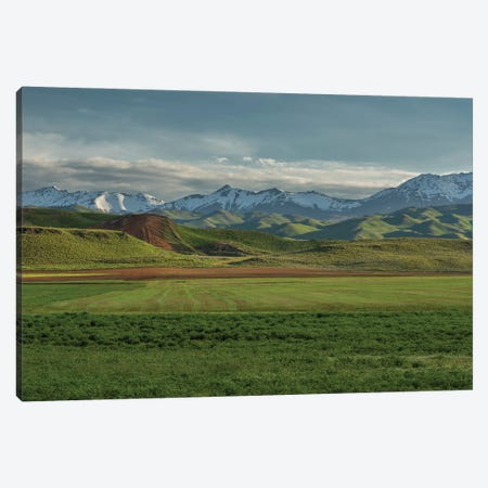 First Light Soldier Mountains Canvas Print #LRH31} by Louis Ruth Canvas Print