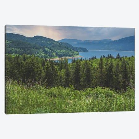 Riffe Lake, Wa Canvas Print #LRH369} by Louis Ruth Canvas Art