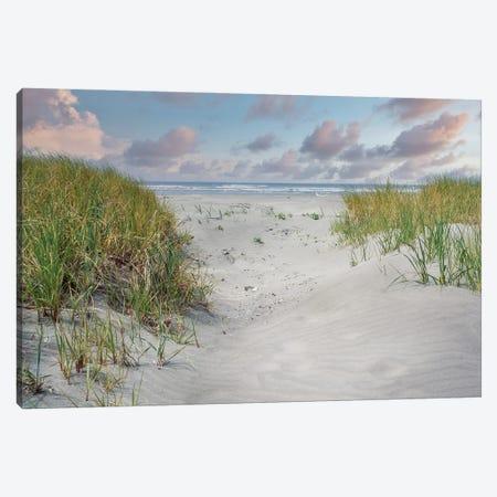Going To The Beach Canvas Print #LRH418} by Louis Ruth Canvas Wall Art