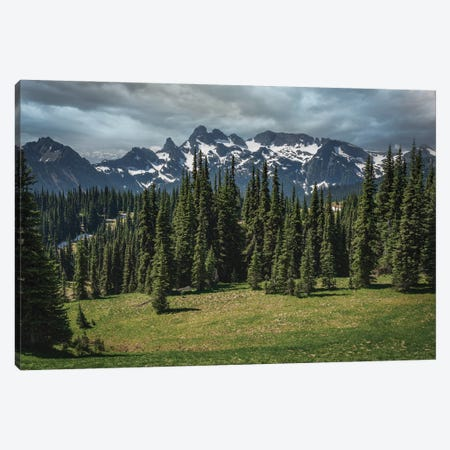 The Landscape Majesty Of God Canvas Print #LRH425} by Louis Ruth Canvas Wall Art