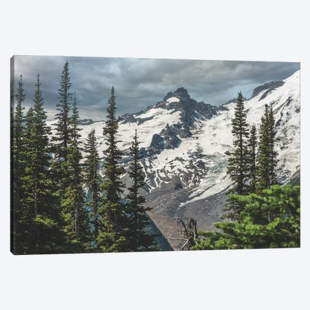 Peaks And Glaciers Canvas Print #LRH427} by Louis Ruth Canvas Wall Art