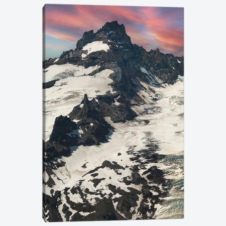 Little Tahoma Sunrise Canvas Print #LRH433} by Louis Ruth Canvas Wall Art