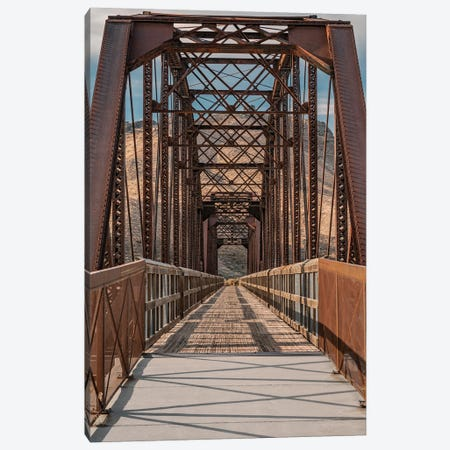 Guffey Bridge 120 Years Old Canvas Print #LRH50} by Louis Ruth Canvas Art Print