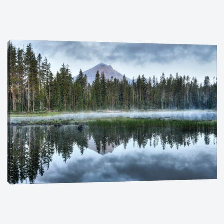 Sky Lakes Wilderness Canvas Print #LRH51} by Louis Ruth Art Print