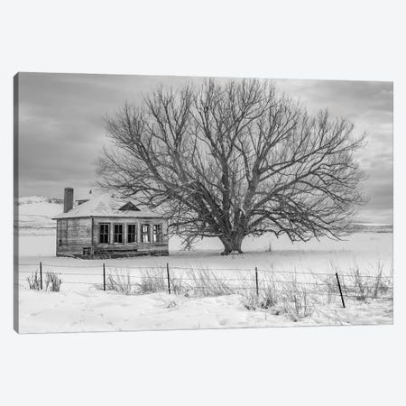 Abandon Black And White Canvas Print #LRH5} by Louis Ruth Canvas Wall Art