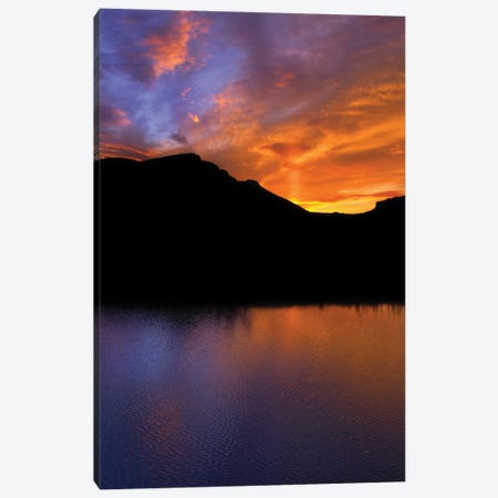 Owyhee Silhouette Canvas Print #LRH73} by Louis Ruth Canvas Print
