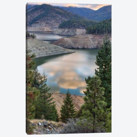Applegate Sunrise Canvas Print #LRH8} by Louis Ruth Art Print