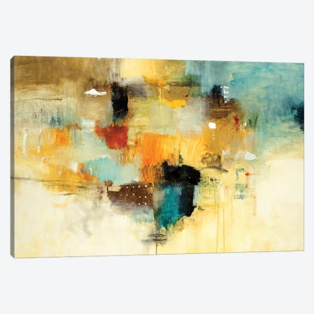 Get Aquainted II Canvas Print #LRI103} by Lisa Ridgers Canvas Print