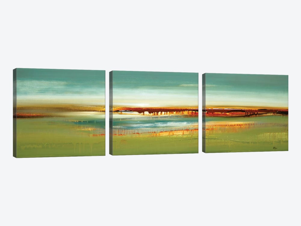 Layers Of Nature by Lisa Ridgers 3-piece Canvas Art