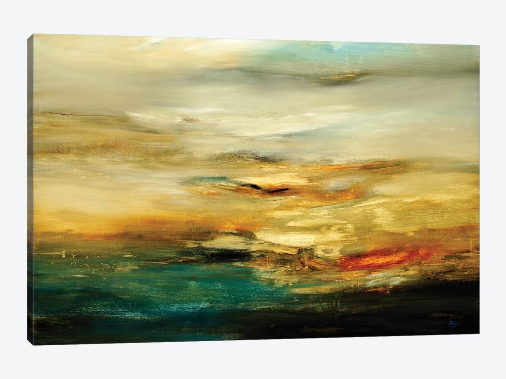 Muted Landscape III by Lisa Ridgers 1-piece Canvas Art Print