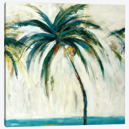 Palms II 3-Piece Canvas #LRI109} by Lisa Ridgers Art Print