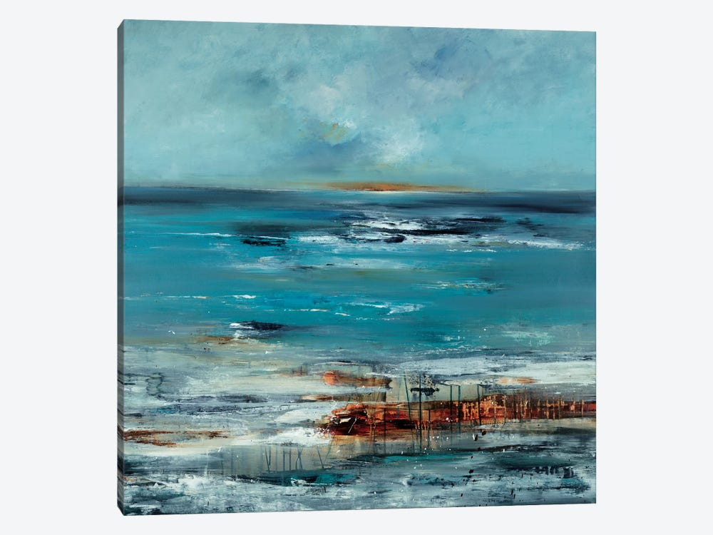 Coastal Connection by Lisa Ridgers 1-piece Canvas Print