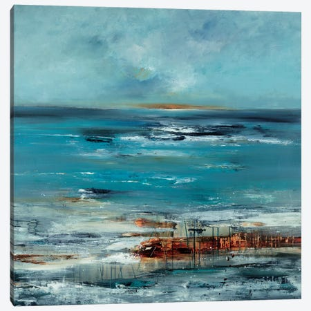 Coastal Connection Canvas Print #LRI10} by Lisa Ridgers Canvas Artwork