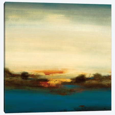Scenic Views V Canvas Print #LRI114} by Lisa Ridgers Canvas Art Print