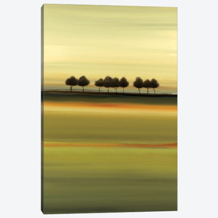Tree Expressions 3-Piece Canvas #LRI119} by Lisa Ridgers Canvas Art