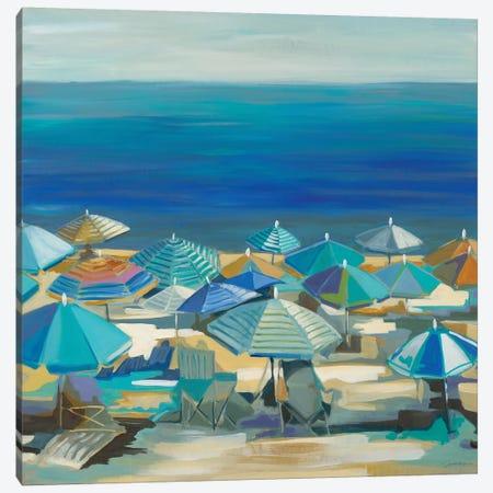 Beach Blanket Bingo Canvas Print #LRI127} by Liz Jardine Canvas Wall Art
