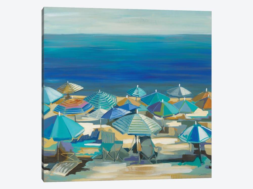 Beach Blanket Bingo by Liz Jardine 1-piece Canvas Artwork