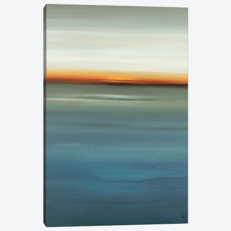 Beside the Blue I Canvas Print #LRI132} by Lisa Ridgers Canvas Wall Art