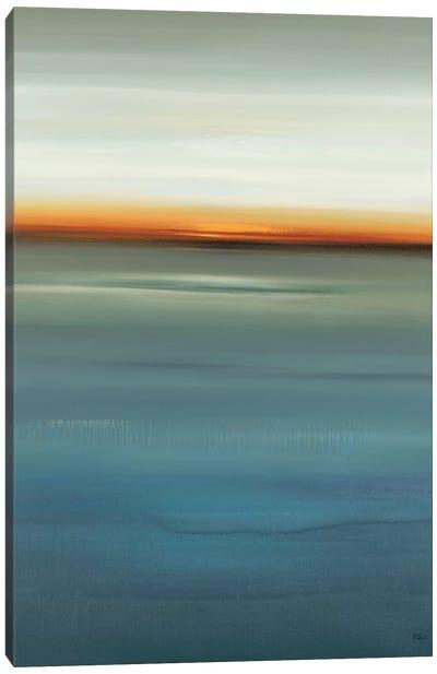 Beside the Blue I Canvas Art Print