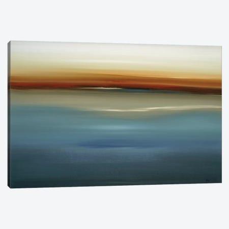 Beside the Blue II Canvas Print #LRI133} by Lisa Ridgers Canvas Art