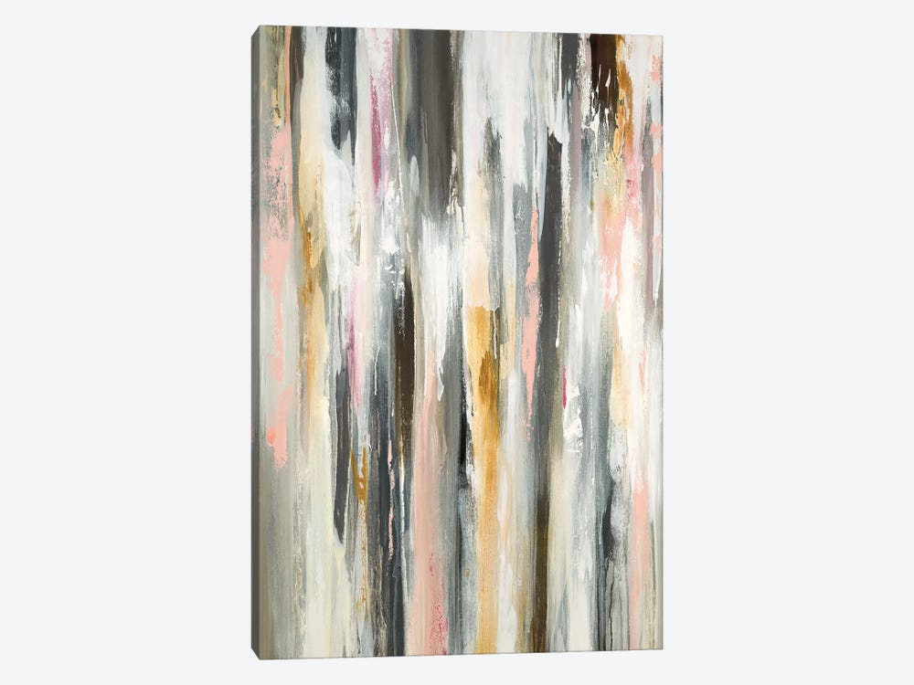 Colored Ripple I by Lisa Ridgers 1-piece Canvas Print