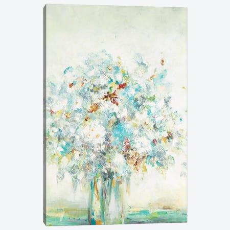 Textured Bouquet Canvas Print #LRI154} by Lisa Ridgers Canvas Art Print