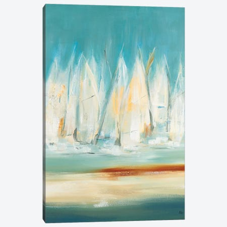 A Day to Sail I Canvas Print #LRI158} by Lisa Ridgers Canvas Wall Art